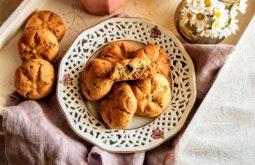 cookieς με ταχίνι και κομματάκια σοκολάτας