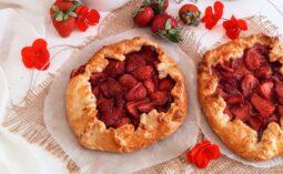 Galette με φράουλες