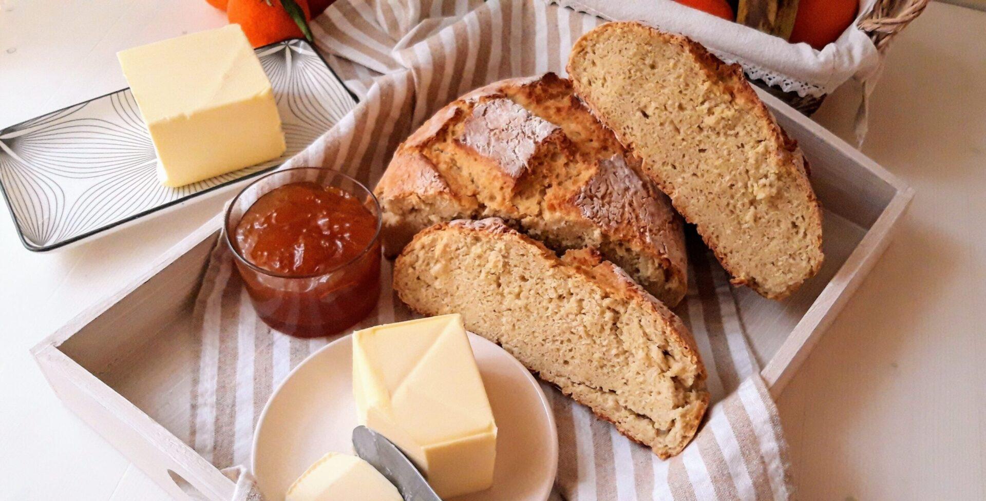 Χωριάτικο ψωμί χωρίς ζύμωμα